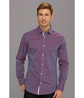 Moods of Norway - Classic Fit Kristian Vik Purple Melange Shirt