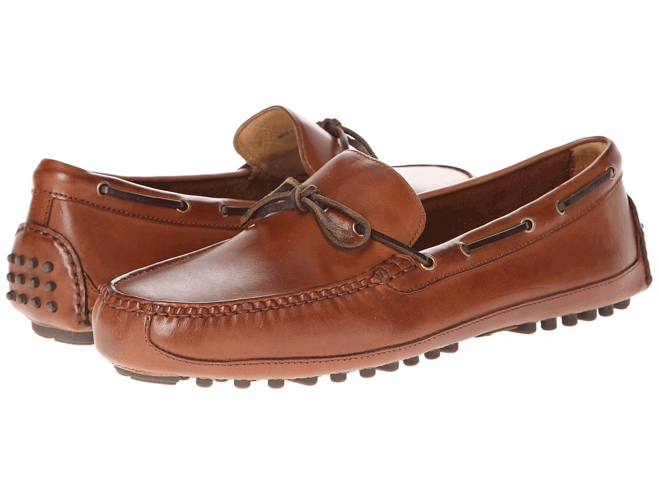 Cole Haan - Grant Canoe Camp Moc (Papaya) Mens Slip on  Shoes