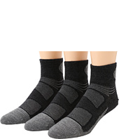 Feetures - Elite Merino + Ultra Light Quarter 3-Pair Pack