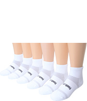 Feetures - High Performance Ultra Light Quarter 6-Pair Pack