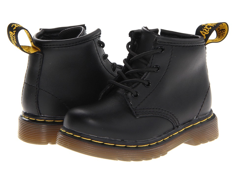 Dr. Martens Kids Collection Brooklee B 4 Eye Lace Boot Toddler Black Softy T Kids Shoes