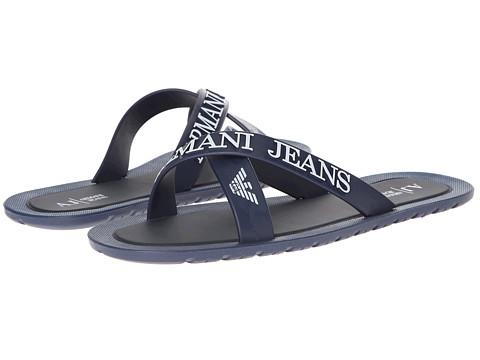 Armani Jeans Logo Sandal