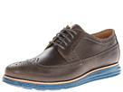 Cole Haan - Lunargrand Long Wingtip (Dark Gull Grey/Seaport) - Footwear