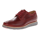 Cole Haan - Lunargrand Long Wingtip (Tango Red/Ironstone) - Footwear