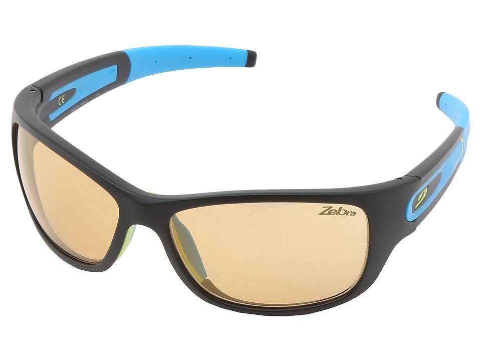Julbo Eyewear - Stony Sunglasses - Zebra Lenses (Black With Zebra Photochromic Lens) Sport Sunglasses