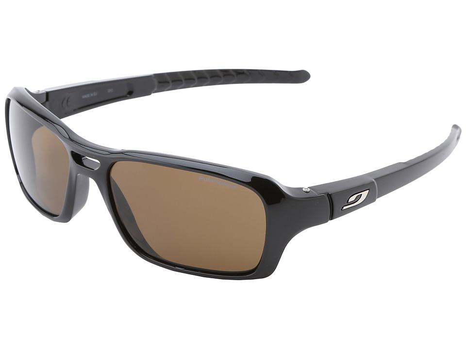 Julbo Eyewear Gloss Sunglasses - Polarized 3 Lenses (Black) Sport Sunglasses