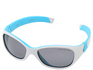 Julbo Eyewear Solan Kids Sunglasses, Grey/Blue w/ Polarized Kids Lenses (4-6 Years)