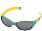 Julbo Eyewear Solan Kids Sunglasses, Blue/Yellow w/ Spectron 3+ Lenses (4-6 Years)