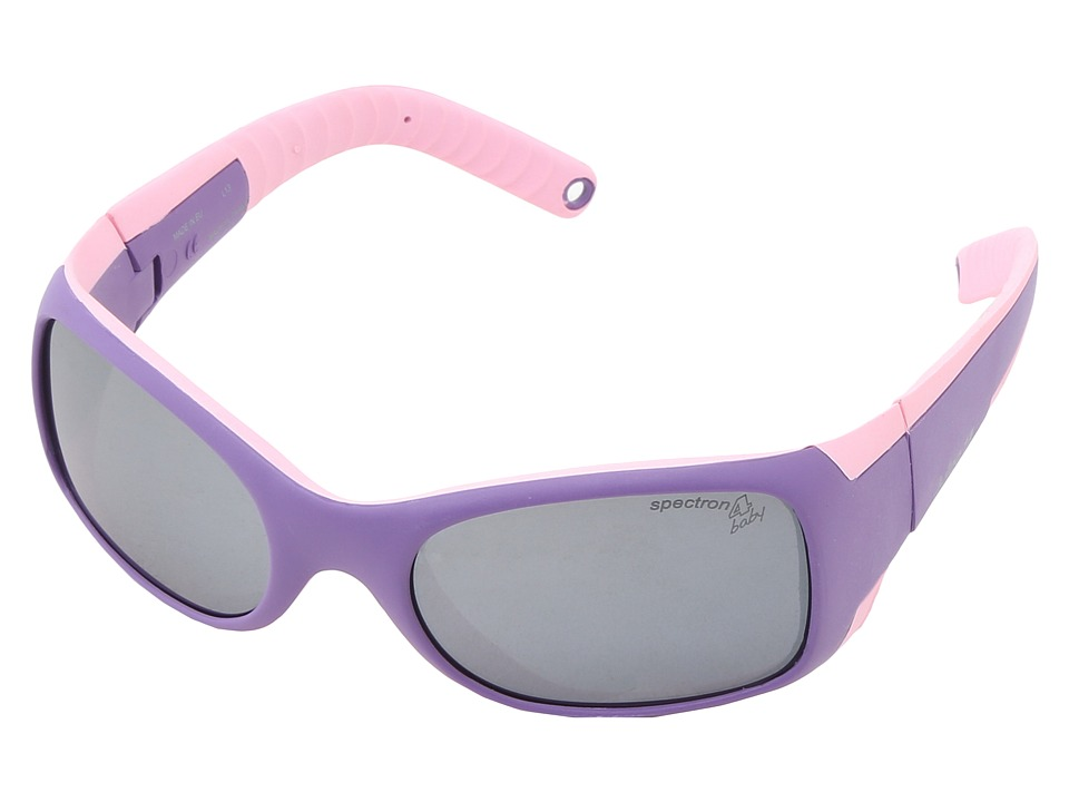 Julbo Eyewear Booba Toddler Sunglasses Violet/Pink w/ Baby Spectron 4 Lenses 4 6 Years Violet/Pink Sport Sunglasses