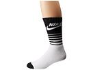 Nike NSW Classic Striped HBR Sock (White/Black)
