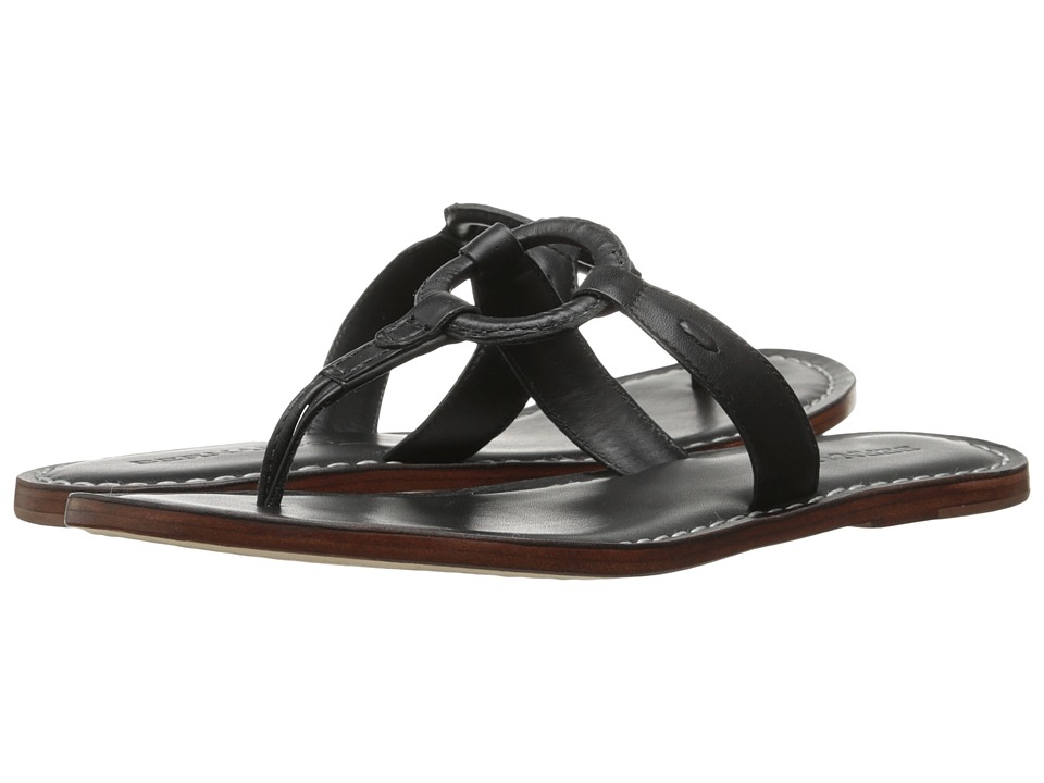 Bernardo Matrix (Black Calf) Sandals