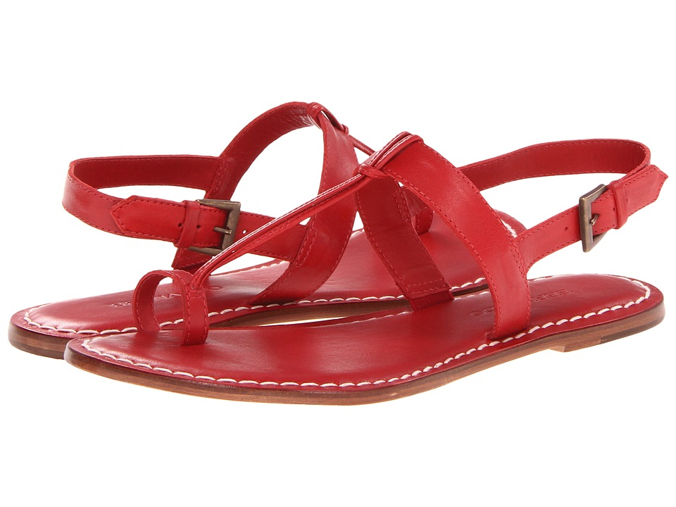 Bernardo Maverick (Red Nappa) Sandals