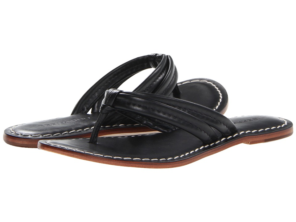Bernardo Miami Sandal (Black Calf) Sandals