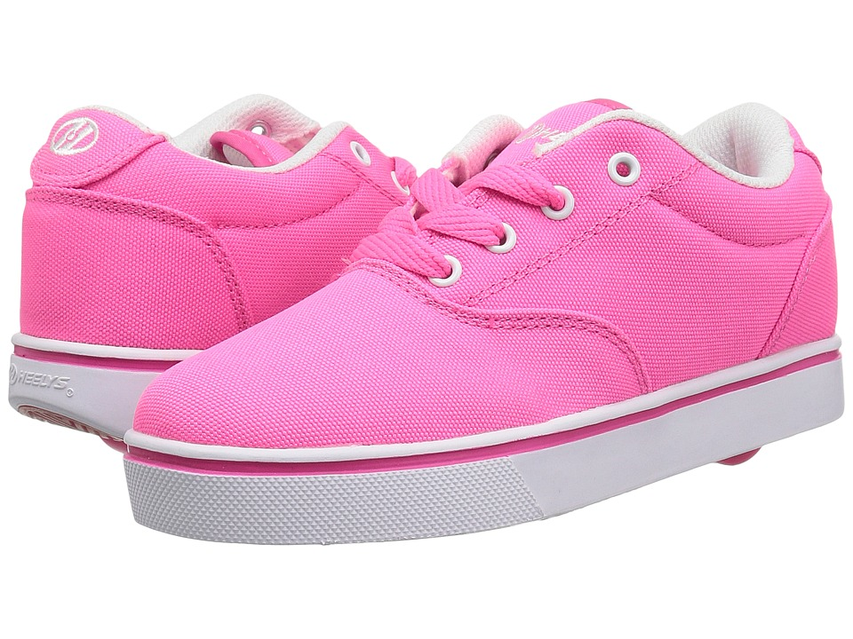Heelys Launch (Little Kid/Big Kid/Adult) (Neon Pink) Girls Shoes