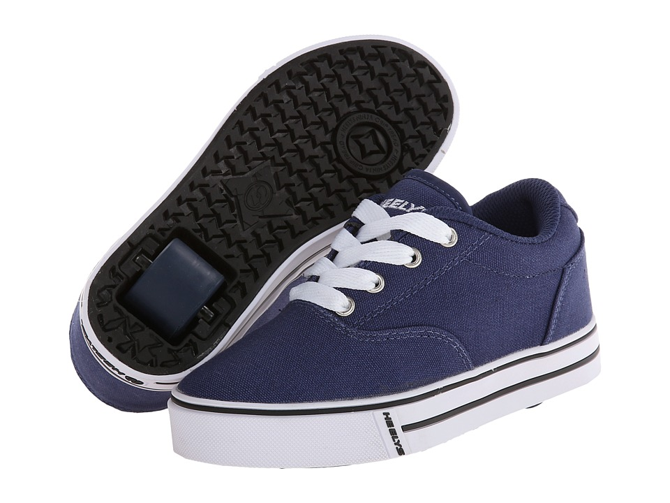 Heelys Launch (Little Kid/Big Kid/Adult) (Navy) Boys Shoes