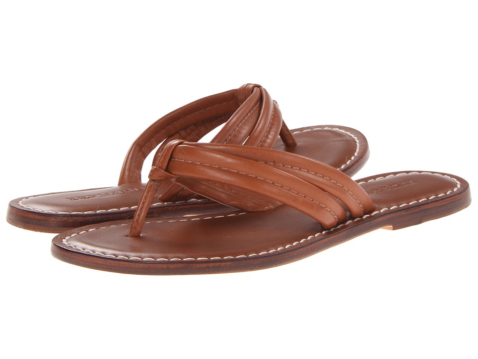 Bernardo Miami Sandal (Luggage Calf) Sandals