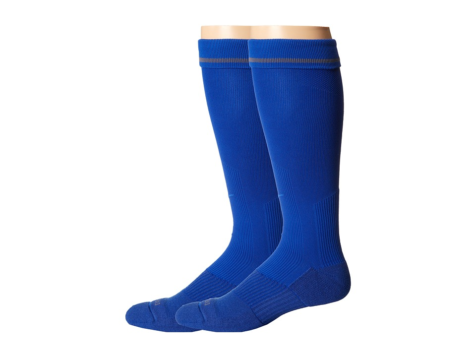 Nike 2 Pair Pack Baseball Sock Game Royal/Game Royal Crew Cut Socks Shoes