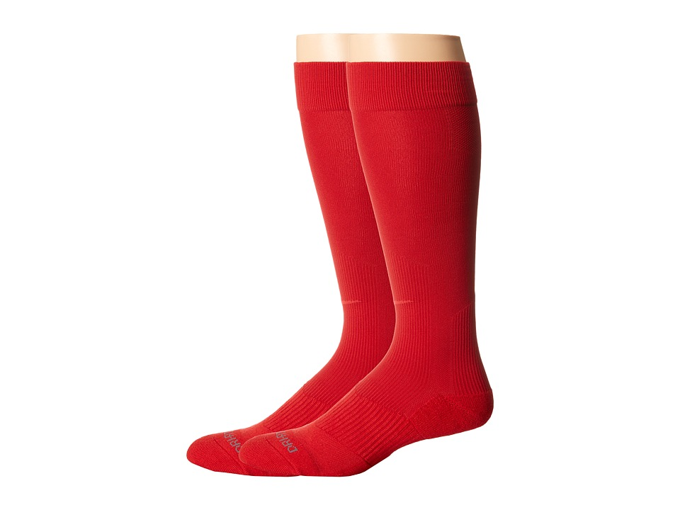 Nike 2 Pair Pack Baseball Sock University Red/ University Red Crew Cut Socks Shoes