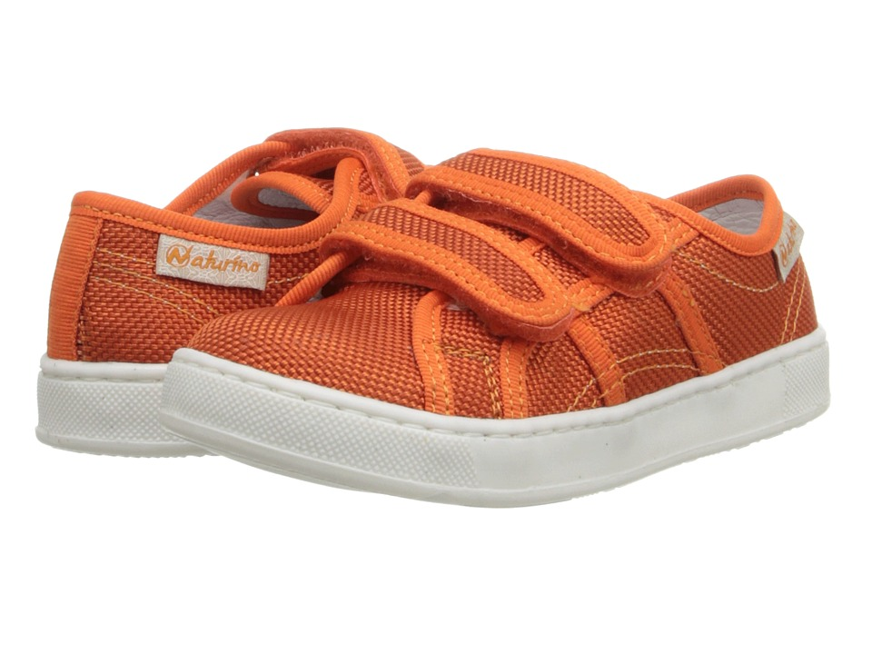 Naturino Nat. 3654 SP14 (Toddler/Little Kid) (Orange Canvas) Boys Shoes