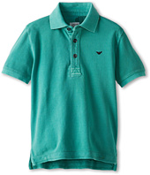Armani Junior - Teal Basic Polo (Toddler/Little Kids/Big Kids)