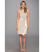 Anne Klein - Cascade Colorblocked Crepe Sheath