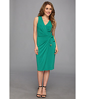 Anne Klein - Crepe Jersey Wrap Dress
