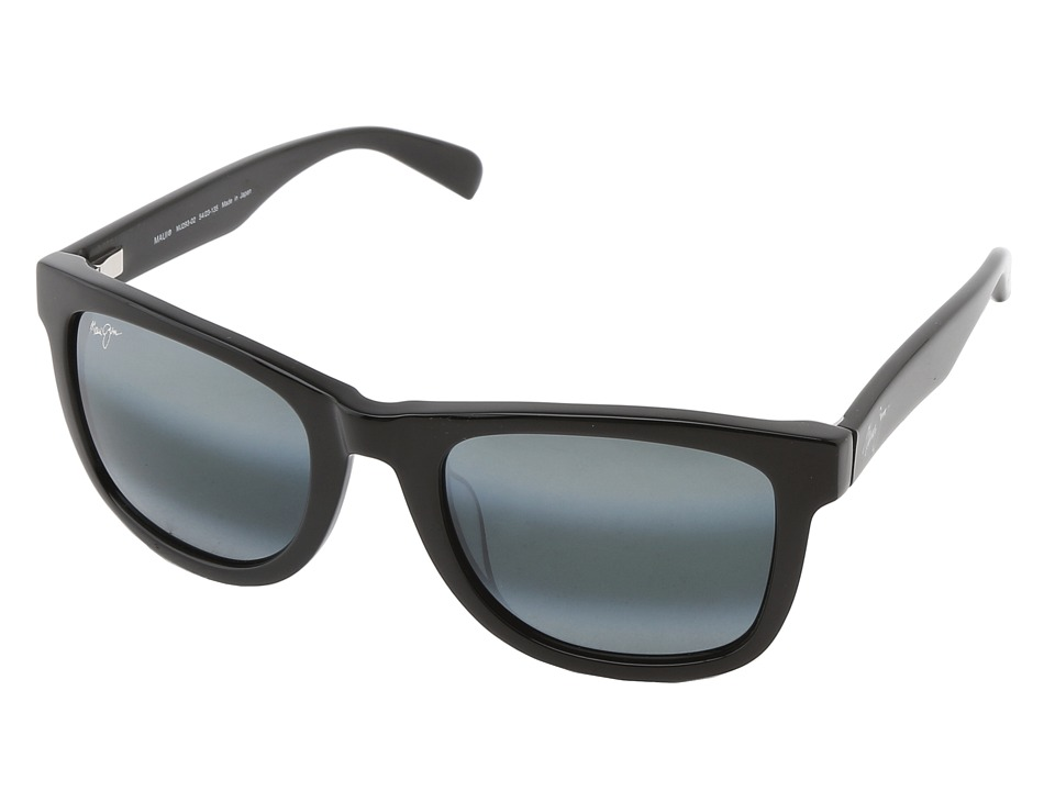 Maui Jim - Legends (Gloss Black/Neutral Grey) Polarized Sport Sunglasses