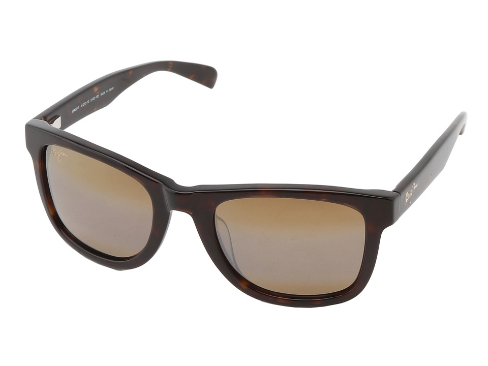 Maui Jim Legends Dark Tortoise/HCL Bronze Polarized Sport Sunglasses