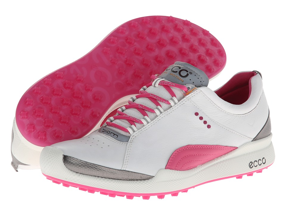 ECCO Golf Biom Golf Hybrid White/Fandango Womens Golf Shoes