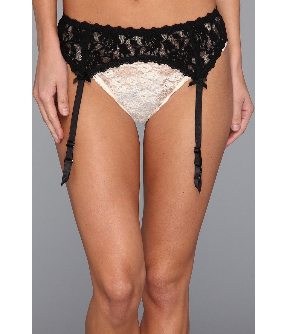 Hanky Panky Signature Lace Garter Belt (Black) Women's Un...