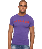 DSQUARED2 - Cotton Linen Sexy Slim Fit Tee