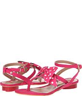LOVE Moschino - Polka Dot Bow T-Strap Sandal