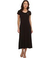 LAUREN Ralph Lauren - Essentials S/S Scoop Neck Long Nightgown