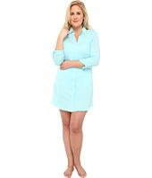 LAUREN by Ralph Lauren - Plus Size Essentials Roll Cuff Sleep Shirt