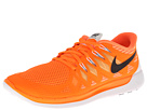 Nike - Nike Free 5.0 '14 (Total Orange/Atomic Mango/Metallic Silver/Black)