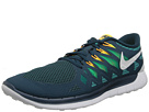 Nike - Nike Free 5.0 '14 (Nightshade/Turbo Green/Volt/White)