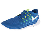 Nike - Nike Free 5.0 '14 (Military Blue/Polarized Blue/Midnight Navy/White)