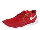 Nike - Nike Free 5.0 '14 (Gym Red/Light Crimson/Kumquat/White)