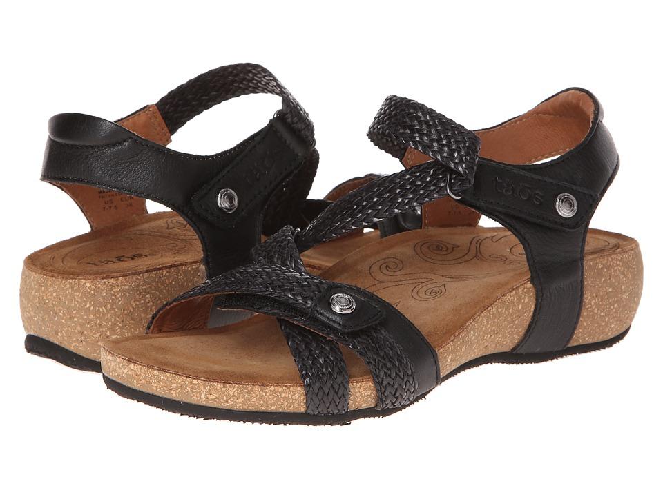 Taos Footwear Trulie (Black) Sandals