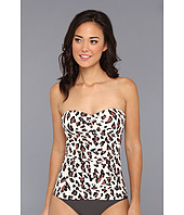 DKNY - Urban Animal Draped Tankini