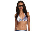 LAUREN Ralph Lauren Sophia Stripe Ring Halter Top