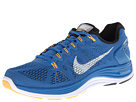 Nike - Lunarglide+ 5 (Military Blue/Black/Atomic Mango/White)