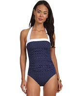 LAUREN Ralph Lauren - Harbor Dot Shirred Bandeau Mio