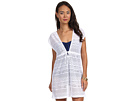 LAUREN Ralph Lauren - Crochet Sleeveless Dress Cover-Up (White)
