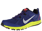 Nike - Wild Trail (Deep Royal Blue/Black/Venom Green/Metallic Silver)