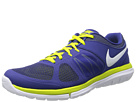 Nike - Flex 2014 Run (Deep Royal Blue/Venom Green/White)