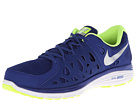 Nike - Dual Fusion Run 2 (Deep Royal Blue/Volt/White/Metallic Silver)
