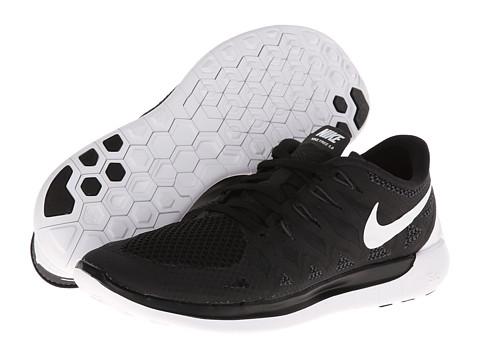 Nike Nike Free 5.0 '14 (Black/Anthracite/White) Women's Running Shoes