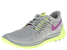 Nike - Nike Free 5.0 '14 (Base Grey/Volt/Light Base Grey/Bright Grape)