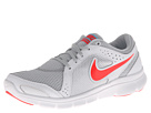 Nike - Flex Experience Run 2 (Pure Platinum/White/Polarized Blue/Laser Crimson)